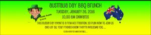 Australia Day BBQ Brunch @ Pie Creek | Queensland | Australia